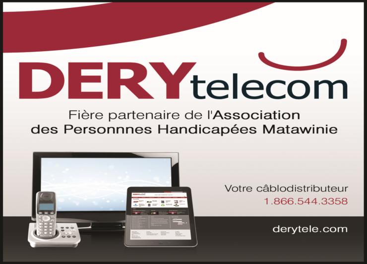 Logo de DERY Telecom de La Baie