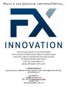 Logo de FX Innovation de Montréal