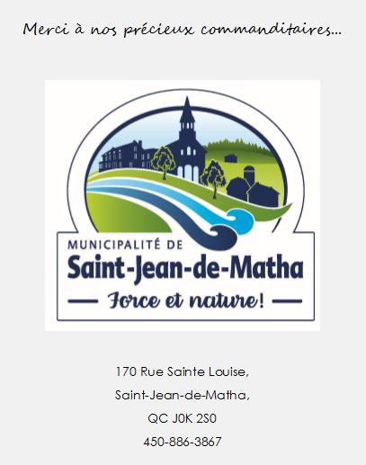Logo de la municipalité de Saint-Jean-de-Matha