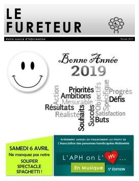 Page couverture Fureteur Février 2019
