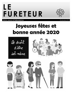 Page couverture journal Le Fureteur novembre 2019